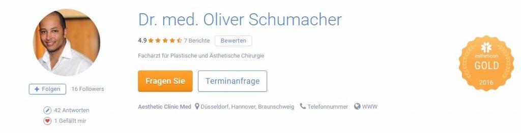 Oberarmstraffung - Dr. med. Oliver Schumacher