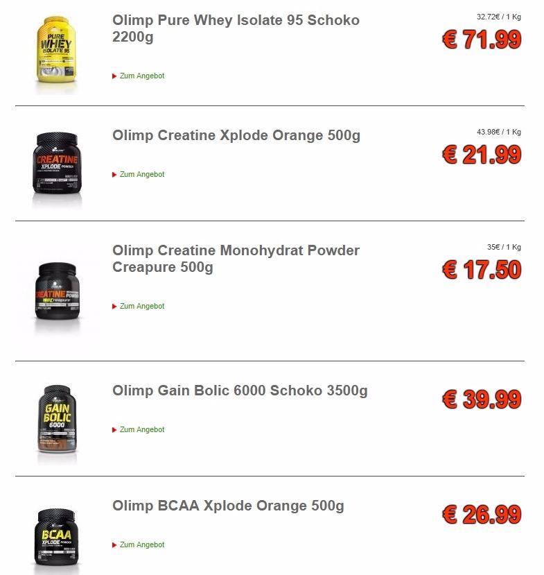 Die Arwards, die die Olimp Supplemente und Nahrungsergänzungsmittel in den letzten zwei Jahrzehnten erhalten haben, sind so zahlreich, dass auch diese ein Beweis für die Effektivität aller Produkte der Unternehmen sind.